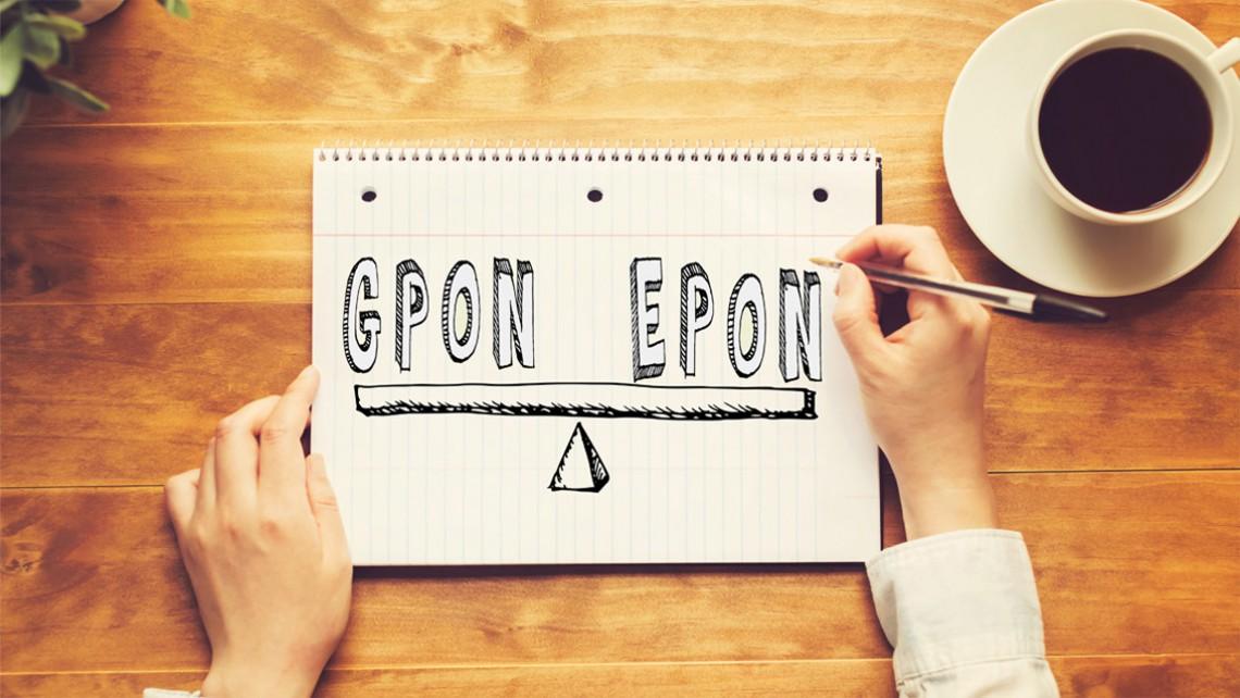 مقایسه EPON و GPON