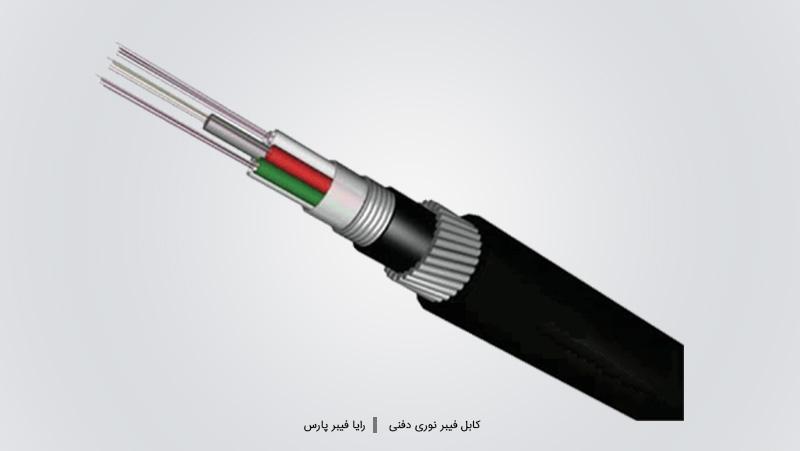  کابل های فیبر نوری دفنی - Direct-buried