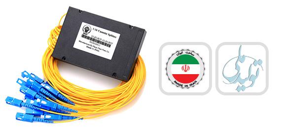 اسپلیتر فیبر نوری کاستی 1:16/SC/UPC