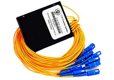 اسپلیتر فیبر نوری کاستی 1:8/SC/UPC