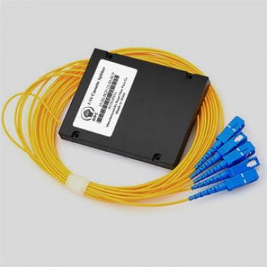 اسپلیتر فیبر نوری کاستی 1:4/SC/UPC